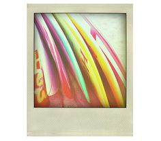 Photograph Colorful Surf Decor Surfboards Polaroid by Polaroider, $24.00