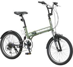 ハマー 折りたたみ自転車【HUMMER FDB206 Wsus】20インチ/泥除け・ボトルゲージ付 自転車通販 自転車激安