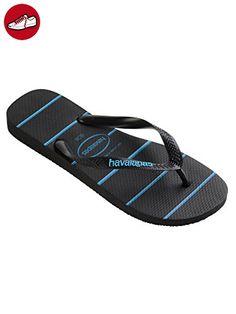 Damen Havaianas Slim Urlaub Strand Flip Flops Sommer Sandaleen Schlüpfen-Auf - Guava Rot - 41/42 ucvnT0dSW