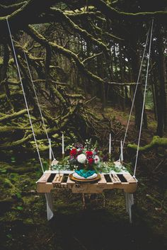 Photography: Cat Dossett // I Take Photos - www.catdossett.com  Read More: http://www.stylemepretty.com/oregon-weddings/2014/08/20/oregon-coast-pacific-wonderland-inspiration-at-hobbit-trail-in-yachats-or/
