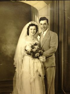 Vintage Bride  Groom