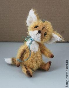 Купить Тедди-лис Лео - тедди, авторская ручная работа, авторская игрушка, лиса