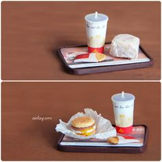 tiny mini things - miniature egg mcmuffin