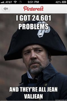 Les Mis humor. I gotta watch this today