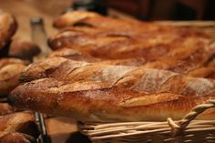 French Baguettes baked to perfection in the Fontana Forni Oven. www.fontanaforniusa.com