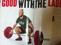 Sportsmith Bumper Plates used in The Box Magazine.