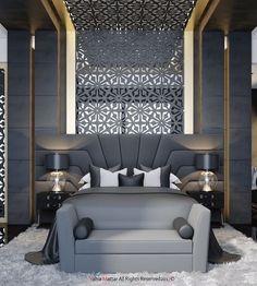Immortalize on Behance - Houses interior designs Modern Luxury Bedroom, Luxury Bedroom Design, Master Bedroom Interior, Bedroom Bed Design, Bedroom Furniture Design, Luxurious Bedrooms, Luxury Interior, Home Bedroom, Home Interior Design