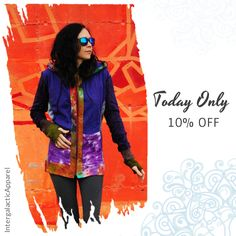 Today Only! 10% OFF this item.  Follow us on Pinterest to be the first to see our exciting Daily Deals. Today's Product: Sale -  Sacred Geometry Hand Dyed Bamboo Fleece Corset Jacket with thumb holes by Intergalactic Apparel Buy now: https://www.etsy.com/listing/508502791?utm_source=Pinterest&utm_medium=Orangetwig_Marketing&utm_campaign=Daily%20Sale   #etsy #etsyseller #etsyshop #etsylove #etsyfinds #etsygifts #musthave #loveit #instacool #shop #shopping #onlineshopping #instashop #instagood…