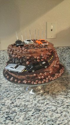 Fast and furious cake birthday party diy creativity