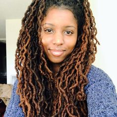 """when the hair is laid     #locsofpoetry #selfie #influencer  """"I cannot wait to get to this point."""""""
