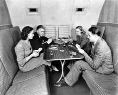 Pan AM Clipper Interior | Clipper Ships of the Sky: The great flying boats that shrank the world ...