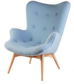 Grant Featherston replica chair from Matt Blatt - a possible reading/drinking wine chair