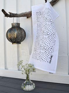Elina Dahl, tea towel. www.elinadahl.com