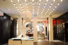 LUMID l Hyatt Andaz, NYC   #Lumid #hotel #lighting #interiordesign #design #DSALighting