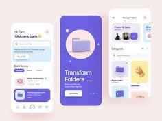 Atlas - File Manager iOS UI Kit by Tran Mau Tri Tam ✪
