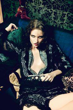 Isabel Scholten & Lieke Van Houten in Vogue Japan July 2015 by Ellen Von Unwerth