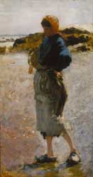 John Singer Sargent's Oyster Gatherers of Cancale