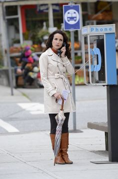 Andie MacDowell stars on Cedar Cove premiering this Saturday with a 2 hour special event on #Hallmark