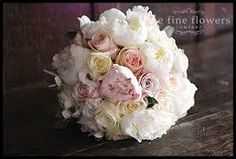 Image result for muted rose wedding bouquets