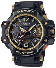G-Shock Men's Gravitymaster Black Bracelet Watch 66x56mm GPW1000GB-1A