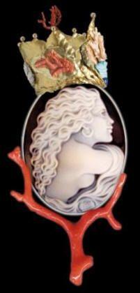 cameo coral jewelry - Casco Italy