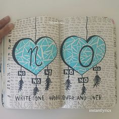 "ashleigh-jayne94: ""wreck this journal 