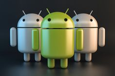 Group of Android robots. Contains clipping path. Free stock photo for personal and commercial use Piggy Bank, Free Stock Photos, Robots, Android, Technology, 3d, Group, Illustration, Robot