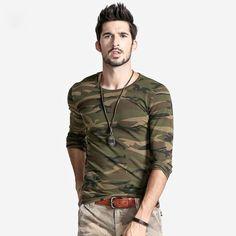 5daae6a3ea2c0 Camouflage Long Sleeve Shirt