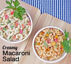 This vegan Creamy Macaroni Salad from Everyday Vegan Eats by Zsu Dever is sure to please all of the guests at your summer gathering, vegan or not.