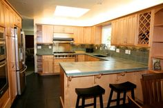 Yes - Kitchen Remodel with New Peninsula Seating & Flow