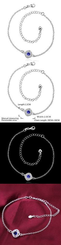 LKNSPCA037-C Anklet silver plated anklet silver plated fashion jewelry anklet for modern women jewelry  /