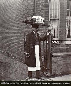 Street Vendor c1910