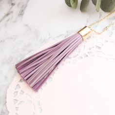 everyday chic accessories by wildjuniper on Etsy    tassel necklaces make an amazing gift