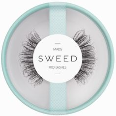 Sweed Lashes Mads ($21) ❤ liked on Polyvore featuring beauty products, makeup, eye makeup and false eyelashes