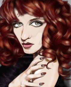 Florence+Welch+by+adavis57.deviantart.com+on+@DeviantArt