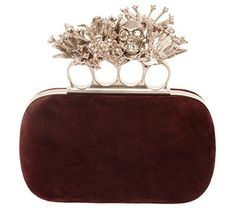 Alexander McQueen Fall 2012 Knuckle Clutches | Tom & Lorenzo Fabulous & Opinionated