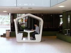 Study pods - Brisbane State Library
