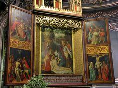 Alsace, Bas-Rhin, Strasbourg, Église protestante Saint-Pierre-le-Jeune, Chœur (ancienne partie catholique de l'église simultanée), Retable de la Déploration (1518, XIXe)  AuthorRalph Hammann