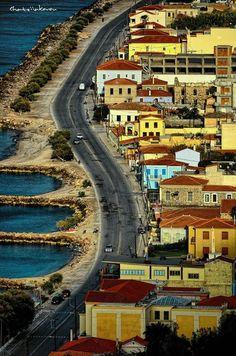 Karlovasi on Samos island, Greece