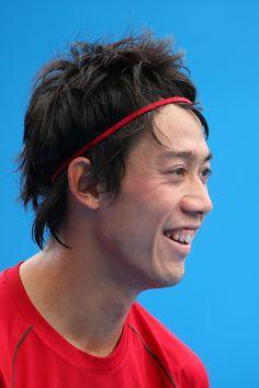 Kei Nishikori Photos - Australian Open: Day 9 - Zimbio