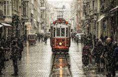 Tram at Istanbul