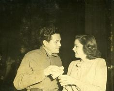 Historic Photograph of John Garfield Pours A Drink For Judy Garland at the Hollywood Canteen