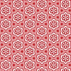 Floral Abstract Pattern Background