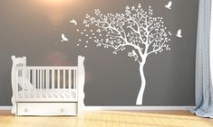 Kids Wall Decals, Wall Stickers, Tree Designs, Tree Wall, Baby Room, Wall Decor, Home Decor, Wall Clings, Wall Hanging Decor