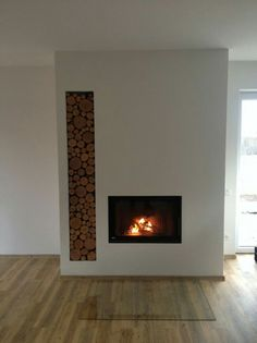 Stove Fireplace, Fireplace Wall, Living Room With Fireplace, Fireplace Design, Coffee Shop Design, Wood Burner, Grand Designs, Colour Schemes, Hearth