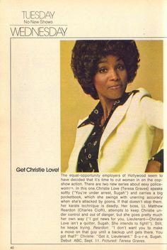 Get Christie Love!