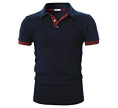 Plain Polo Shirts, Slim Man, Polo Ralph Lauren, Navy, Amazon, Store, Sleeve, Fit, Clothing