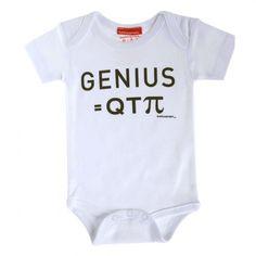 Genius = Qt(pi) Bodysuit