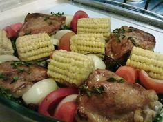 Ensopado de galinha caipira. Foto e receita: blog Recém-Casada.