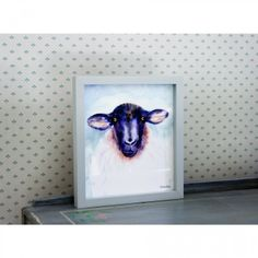 Basil Sheep Picture - Lily and Moor